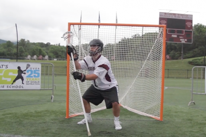 Lacrosse Goalie Drill Defensive Stick