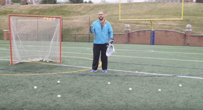 Lacrosse Goalie Drills - 3 Stations