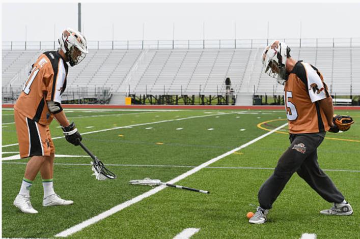 Footie Lacrosse Drill