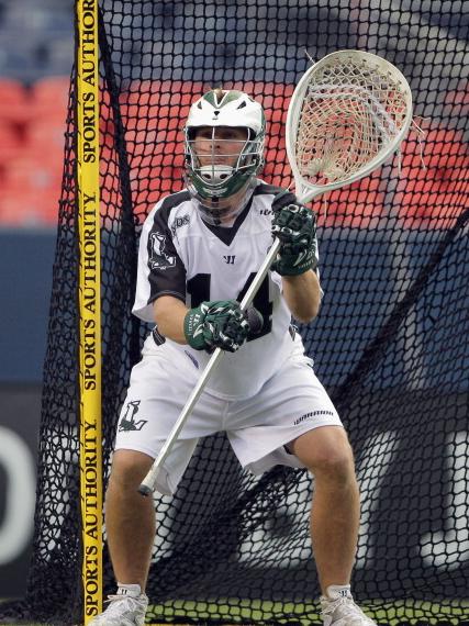 Adams Perfect Lacrosse Goalie Stance