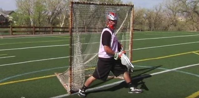 Bad Habit for Lacrosse Goalies