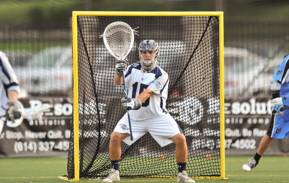 Perfect Lacrosse Goalie Stance 2