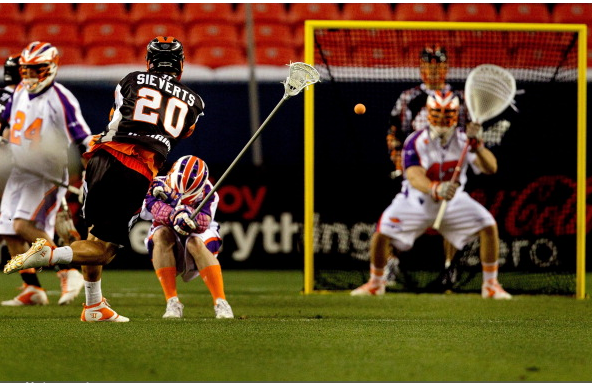 Perfect Lacrosse Goalie Stance Scott Rodgers