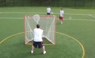 Playing the Ball X - Lax Goalie