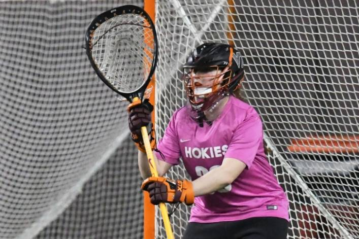 Meagh Graham Virginia Tech Goalie