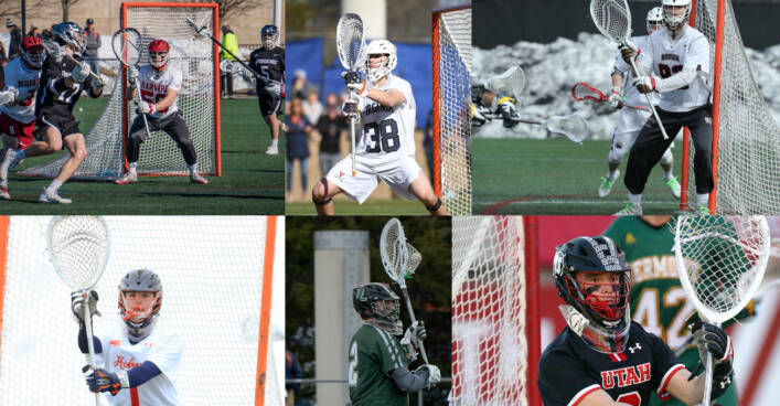 2020 Men's NCAA D1 Goalie Stick Setups